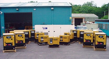 Plant Hire: Storage Tanks | Back-up Generators | Pumping & Metering - Crown Oil UK