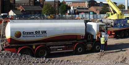 construction fuel - nationwide deliveries on all industrial fuel orders!