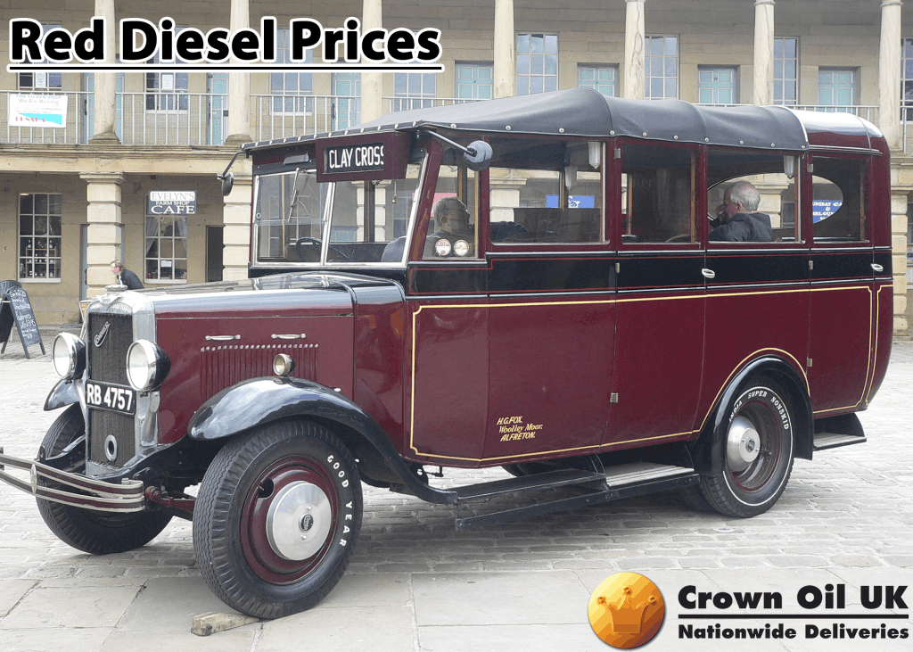 Red diesel prices were cheaper due to reduced tax