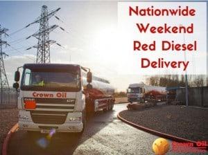 nationwide weekend red diesel emergency fuel